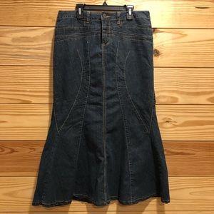 Jean Skirt - Sz. 8